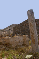 The Temple Island of Delos in Greece Europe