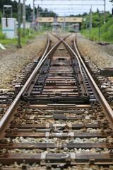 線路の分岐点