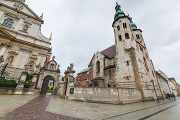 Saints Peter and Paul Church in Cracow, Poland