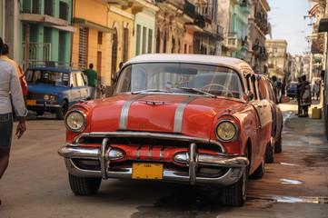 old car on street in Havana
