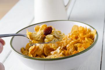 Cornflake Breakfast Setting