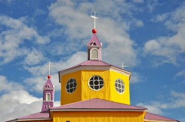 Wooden church. Castro.