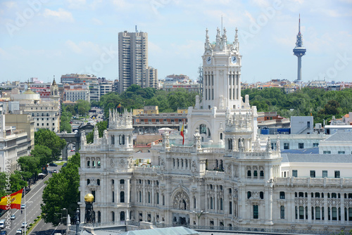 Palace of Communication (Palacio de Comunicaciones) in Madrid