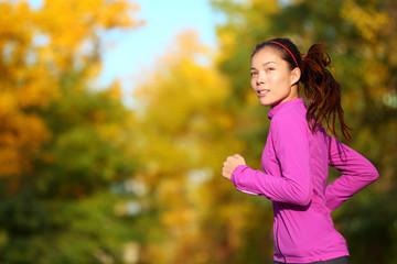 Aspirations - Aspirational woman runner running