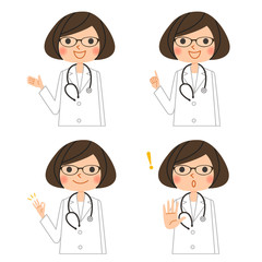 医師(女性)