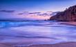 California Beach sunset