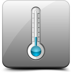 Thermometer button