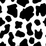 Fototapety Seamless Cow Pattern