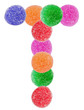 Jelly Alphabet Set Letter T - 54494351