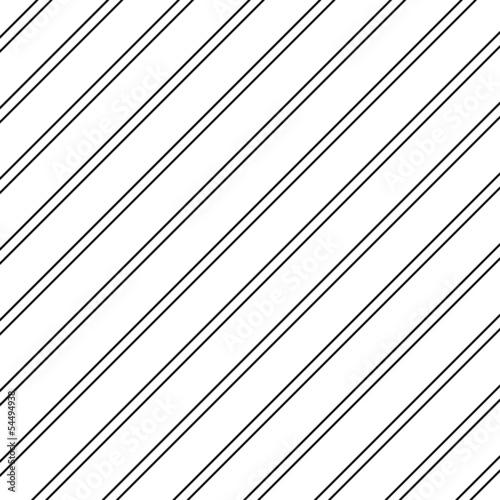 Seamless pattern. Diagonal Direction Stripes - 54494938