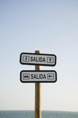 indicador de dirección