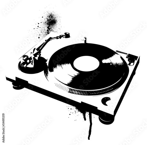 Stencil Turntable - 54495319