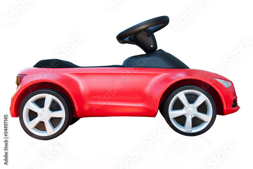 Leinwanddruck Bild Kinderauto