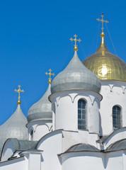 St. Sophia cathedral in Novgorod Kremlin, Novgorod, Russia