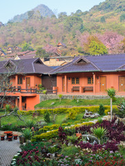 Beautiful resort in Chiang Mai, Thailand