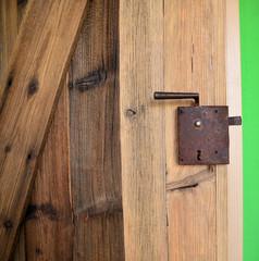 Tür Alm Hütte Holz