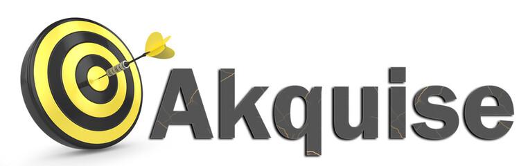Zielscheibe Akquise