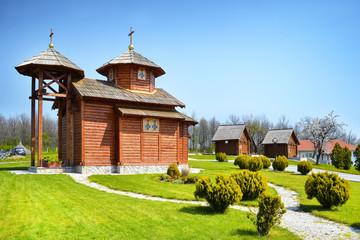 Ethno village in Serbia