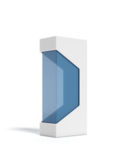 Modern package with transparent window
