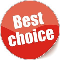 étiquette best choice
