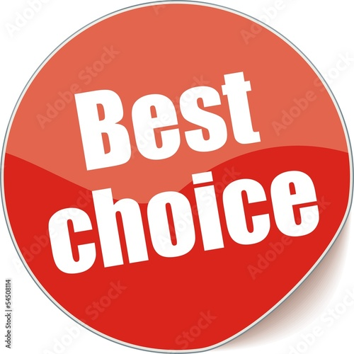 étiquette best choice