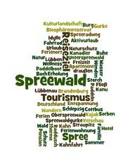 Wortwolke Spreewald