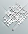 3d paper vector squares design