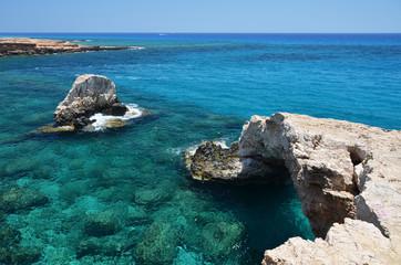 Rock arch. Ayia Napa, Cyprus