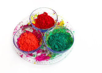 Different colours for Holi festival