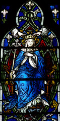 Mary crowned in heaven