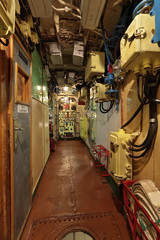 The submarine interior