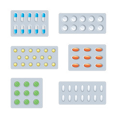 Set of pills