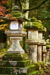 Lanterns in Nara, Japan