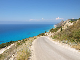 South cape of Lefkas island (Greece, Ionian Sea)