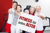 Fototapety fitness für jedes alter