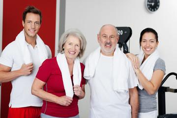 fitness für alt und jung