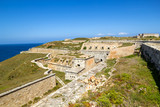 La Mola Fortress of Isabel II at Menorca, Spain poster