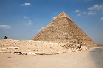 Pyramids at Egypt