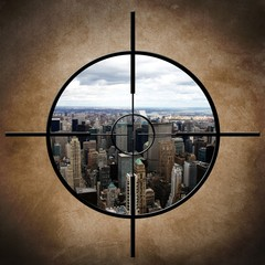 Military target on New York