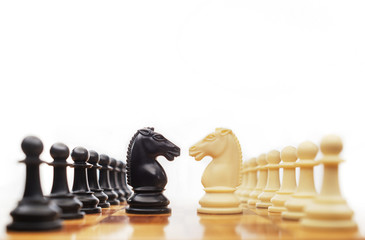 Chess confrontation