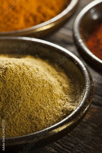 Organic Gourmet Hot Ground Spices
