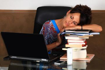 Fatigue au bureau...