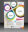 Vector Interior Designers Flyer, Magazine Cover