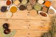 Condiments background