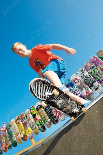 Junger Skater