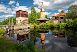 Abandoned ironworks in Ulvshyttan, Sweden