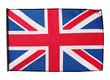 Flag of England on white background