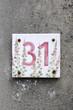 Hausnummer 31