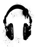 Headphones Graffiti - 54533941