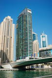 bridge on the Gulf in Dubai Marina